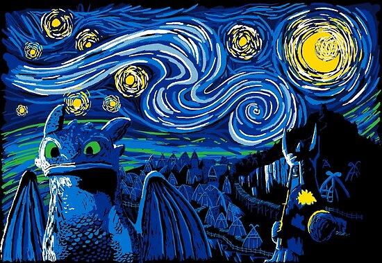Sternenhimmel Berk von manikx