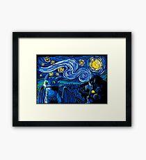 Starry Berk Framed Print