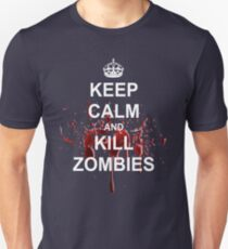 Keep Calm, Kill Zombies T-Shirt