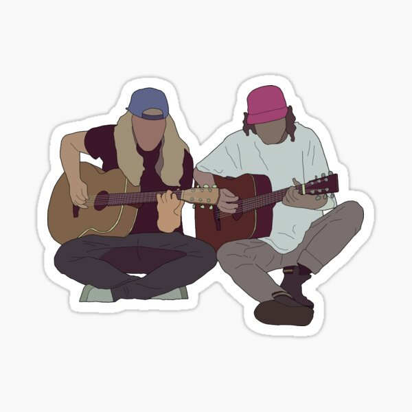 Stick Fingers - Cyclone (The Village Sessions) Sticker