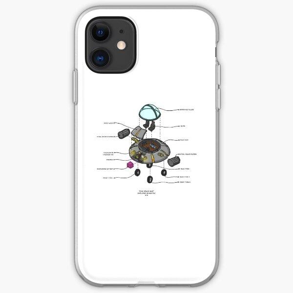 RICK SPACESHIP iPhone Soft Case