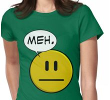 No Smiley - Meh Womens Fitted T-Shirt