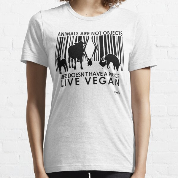 VeganChic ~ Animals Are Not Objects Essential T-Shirt