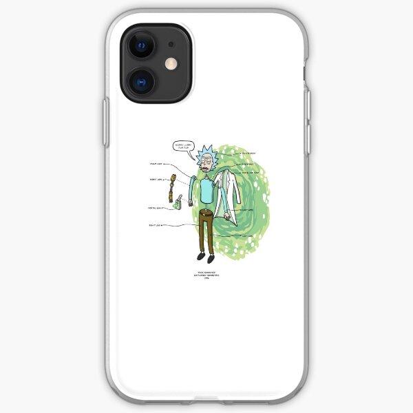 RICK SANCHEZ iPhone Soft Case