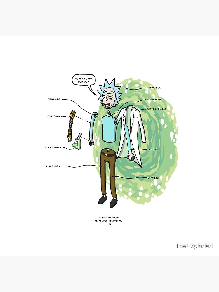 RICK SANCHEZ by TheExploded