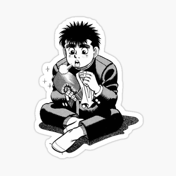 Makunouchi Ippo Sticker