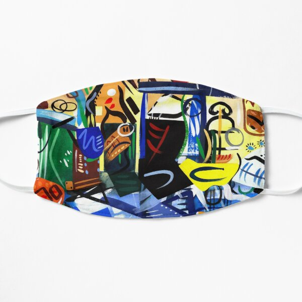 Abstract Interior Art Print Mask