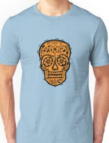 Sugar Skull SF Halloween on blk Unisex T-Shirt