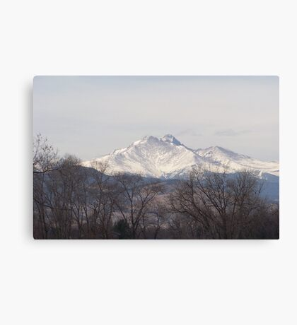 Fall on the Mountain Canvas Print