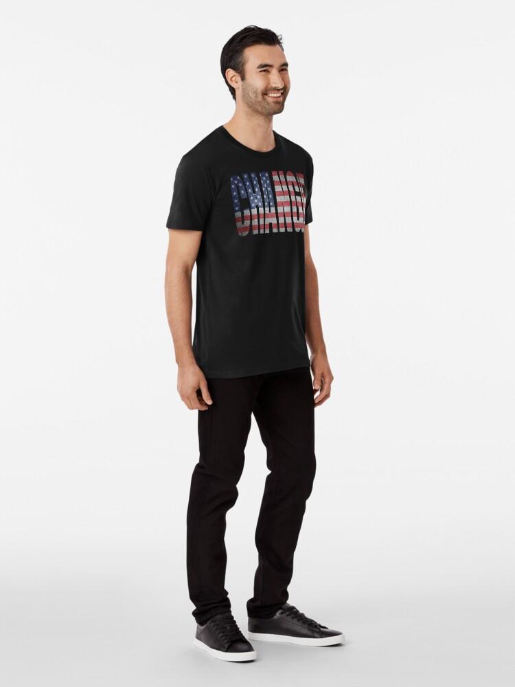 Alternate view of Change (America Needs To Change) Premium T-Shirt