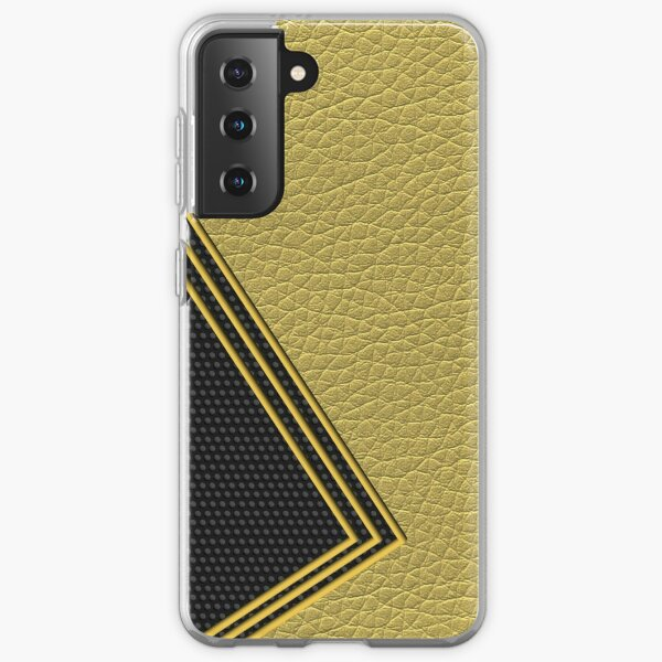 Decorate Lines and Shape (Leather) Samsung Galaxy Soft Case