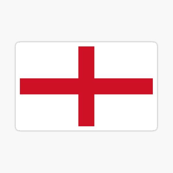 Flag of England (St. George's Cross) Sticker