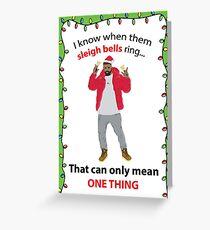 Hotline Christmas Greeting Card
