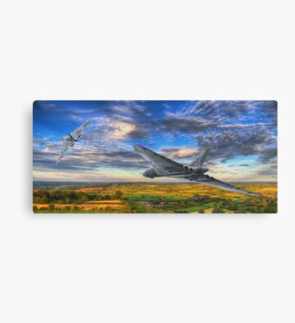 Flight of the Vulcans  Canvas Print