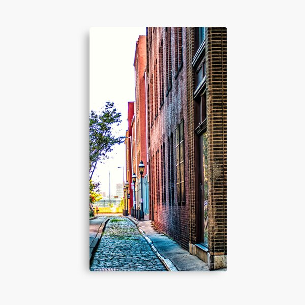 Old City Perspective Canvas Print