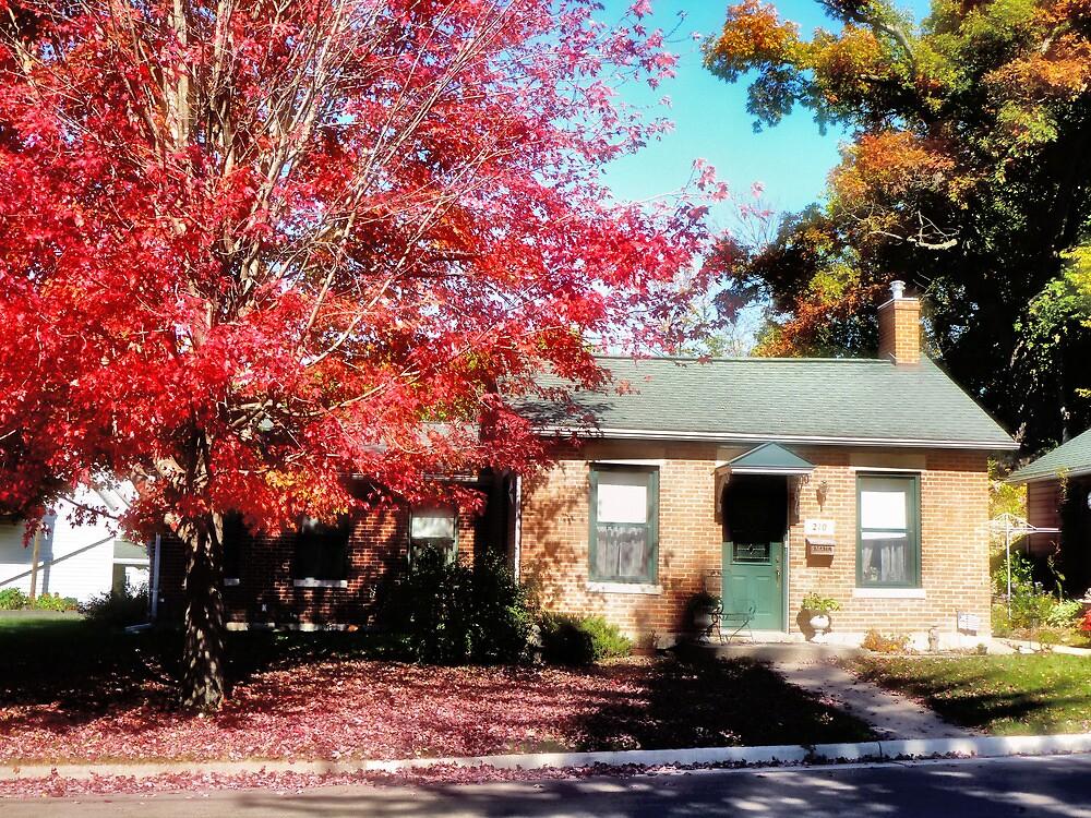 Autumn, in Scarlet by Nadya Johnson