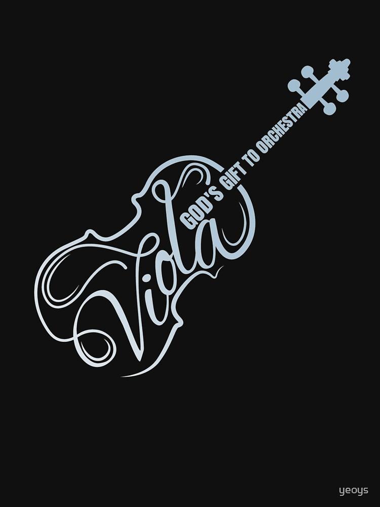 Viola God's Gift to Orchestra - Viola Instrument by yeoys