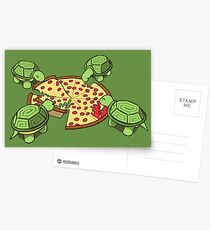 Postales Tortugas Hungry Hungry