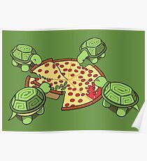 Hungry Hungry Turtles Poster
