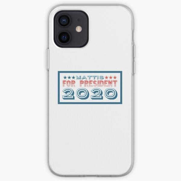 Mattis For President 2020 iPhone Soft Case