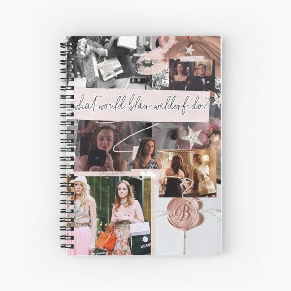blair waldorf gossip girl - phone case  Spiral Notebook