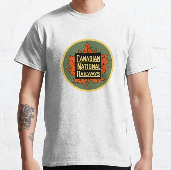 Canadian National Railways Vintage 1954 Classic T-Shirt