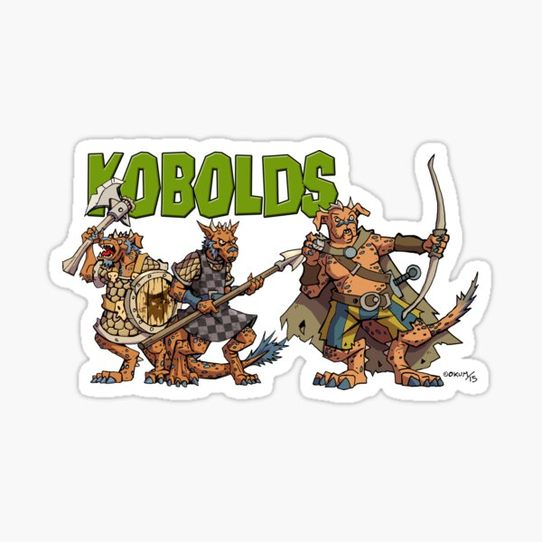 Kobolds Sticker