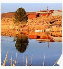 Autumn on the Mill Pond Poster