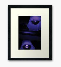 Split Focus  Framed Print