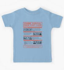 Zombie Survival - Quick Start Guide Kids Tee
