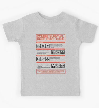 Zombie Survival - Quick Start Guide Kids Clothes