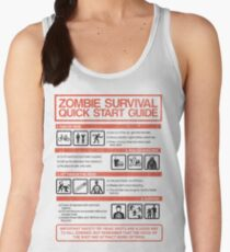Zombie Survival - Quick Start Guide Women's Tank Top