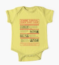Zombie Survival - Quick Start Guide One Piece - Short Sleeve