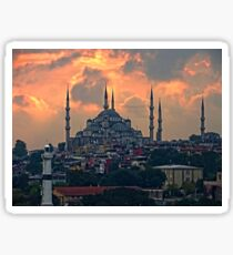 The Blue Mosque, Istanbul Sticker