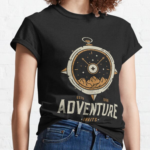 Always Time for Adventure - Vintage Classic T-Shirt