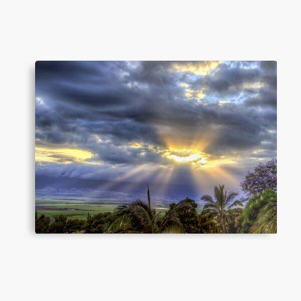 Maui Sunset 6/7/12 Metal Print
