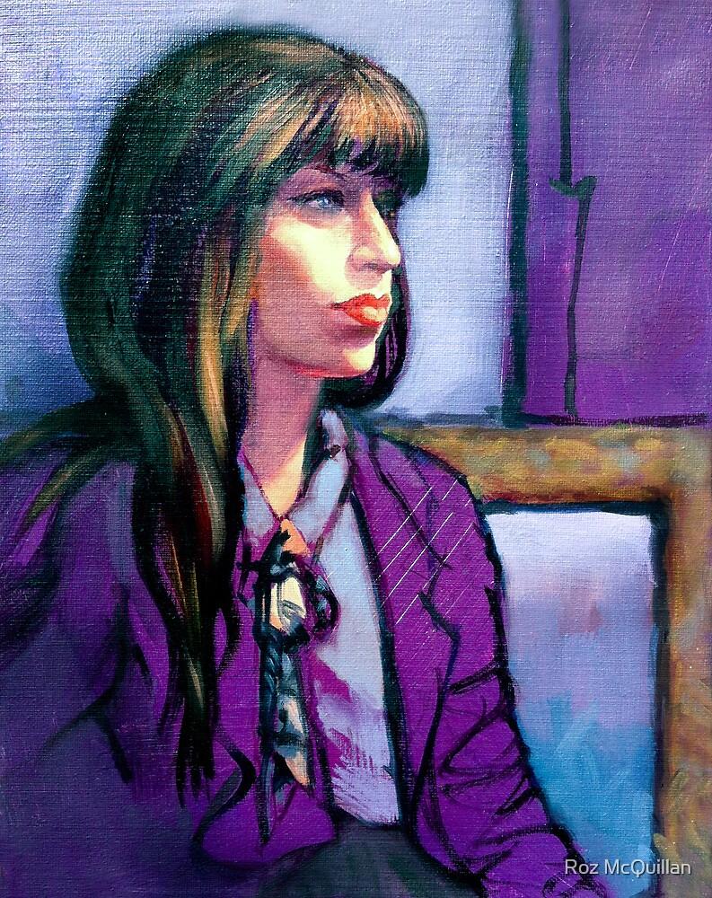 Portrait of Kathleen by Roz McQuillan