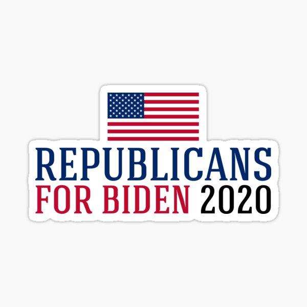 Republicans for Biden 2020 Sticker