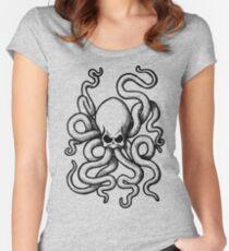 Skulltopus Women's Fitted Scoop T-Shirt