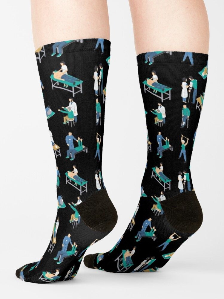 Alternate view of Physical Therapist Physiotherapist Health Care Gift Socks