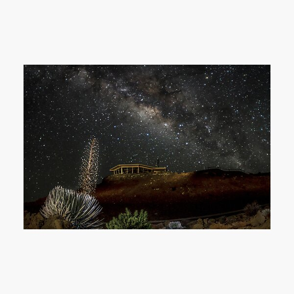 Milky Way over Haleakala Photographic Print