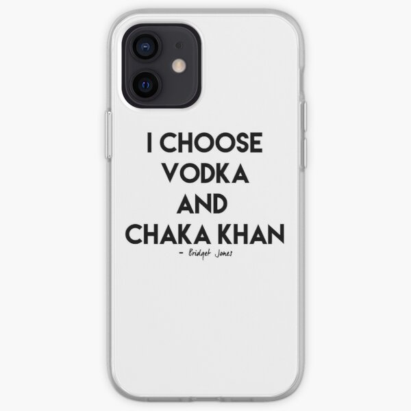 Vodka & Chaka Khan iPhone Soft Case