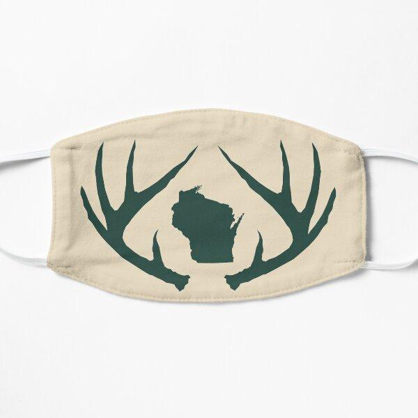 Wisconsin Antlers Cream Mask Flat Mask