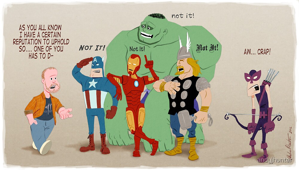 Whedon's Avengers by andyjhunter