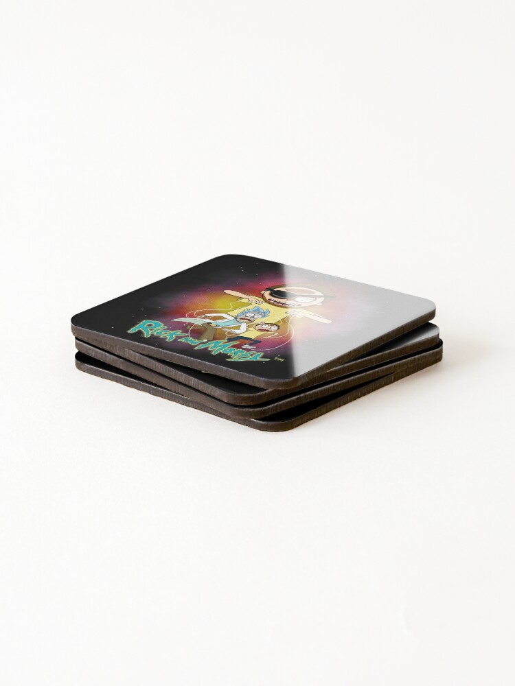 Alternate view of Puppeteer Morty Coasters (Set of 4)