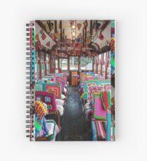 Bendigo tam #302 - interior Spiral Notebook