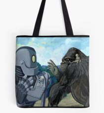 Iron Giant and King Kong are terrible pet owners Tote Bag