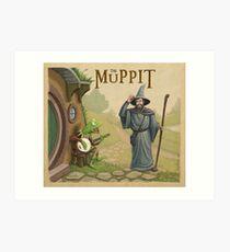 The Muppit Art Print