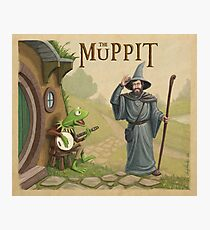 The Muppit Photographic Print