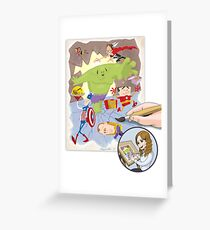 The Office Avengers Greeting Card